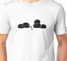 Dango Daikazoku - Black Unisex T-Shirt