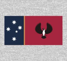 Australia Flag Proposal 10 by cadellin