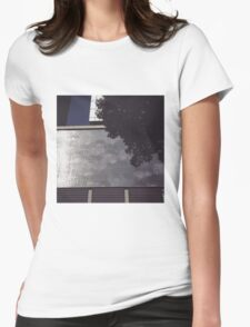 melbourne city view Womens Fitted T-Shirt