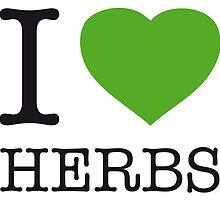 I ♥ HERBS by eyesblau