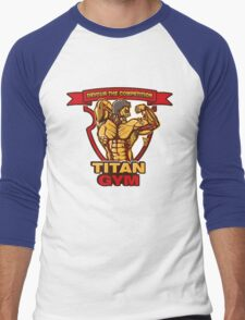 Titan Gym Men's Baseball ¾ T-Shirt