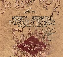 Marauder's map Samsung by pireX