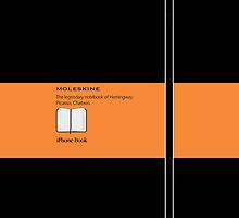 Moleskine Orange 1 - Galaxy by Balugix