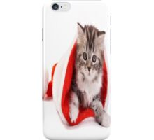 Xmas Cat iPhone Case/Skin
