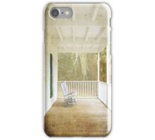 Empty Chairs iPhone Case/Skin