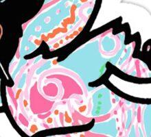 Iowa State Cyclones Mascot - Cy Lilly Print Sticker