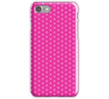 Flower of Life - Magenta iPhone Case/Skin