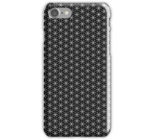 Flower of Life - Black iPhone Case/Skin