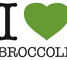 I ♥ BROCCOLI by eyesblau