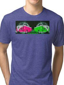 VW combi duo Tri-blend T-Shirt