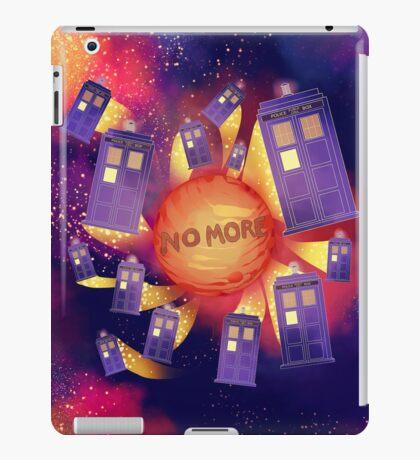 NO MORE iPad Case/Skin