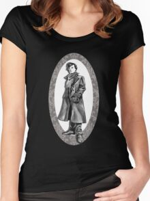A Study In Grey Women's Fitted Scoop T-Shirt
