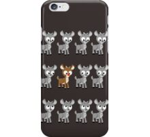 LOOK! Is Rudolph! v2 iPhone Case/Skin