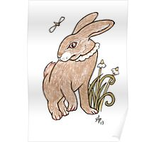 Wee Hare Poster