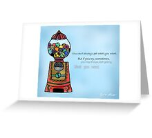 Lucky Bubbly Gummy Greeting Card