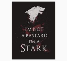 I'm not a bastard I'm a Stark sticker by EdWoody