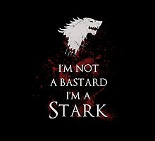 I'm not a bastard I'm a Stark iphone by EdWoody