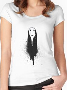 -Faceless- Women's Fitted Scoop T-Shirt