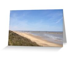 Sea Palling Beach Greeting Card