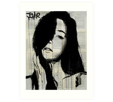 girl from the north country Art Print
