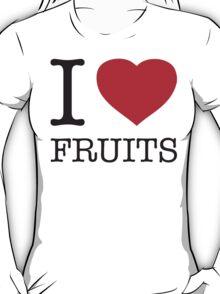 I ♥ FRUITS T-Shirt