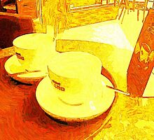 COFFEE MUGS. by Terry Collett