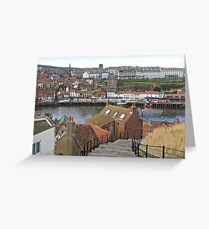 Whitby. Greeting Card