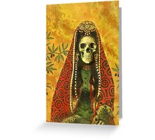 Gothic Sorceress Greeting Card