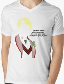 Five Mens V-Neck T-Shirt