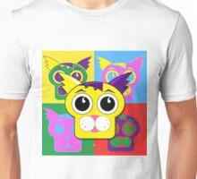 Puzzle the Cat Pop Art Unisex T-Shirt