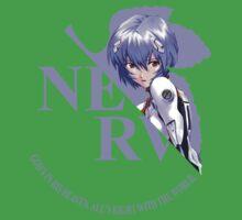 Rei - Nerv - Neon Genesis Evangelion One Piece - Short Sleeve