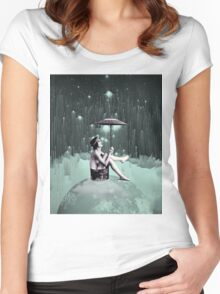Symphonic Storm Women's Fitted Scoop T-Shirt