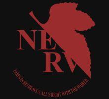 Nerv - Neon Genesis Evangelion Kids Clothes