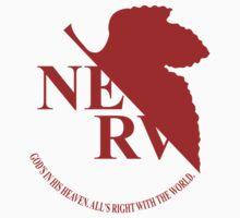 Nerv - Neon Genesis Evangelion Kids Tee
