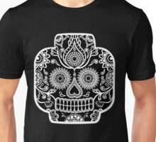 """Lego-Calavera"" Black&White Version Unisex T-Shirt"