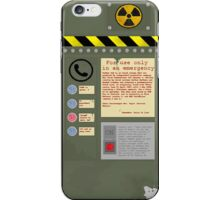 Apocalypse Fallout Style phone cover  iPhone Case/Skin