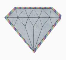 Rainbow Diamond by Corsicanartlab
