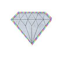 Rainbow Diamond Photographic Print