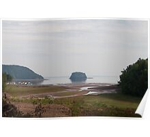Minas Basin, Bay Of Fundy Poster