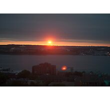 Halifax Sunrise Photographic Print