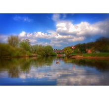 Coloured River Photographic Print