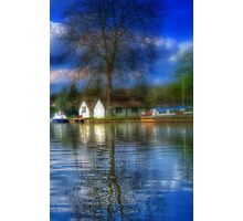 Boat Homes Photographic Print