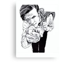 The Doctor - Matt Smith Canvas Print