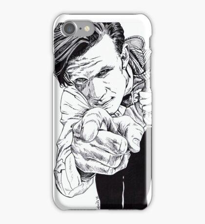 The Doctor - Matt Smith iPhone Case/Skin