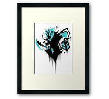 Thresh Framed Print