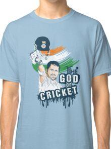 Sachin God of Cricket Classic T-Shirt