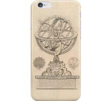 Celestial Spheres Through Time 1791 iPhone Case/Skin