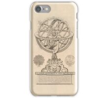 Celestial Spheres Through Time 1791 iPhone Case/Skin