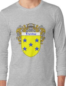 Trevino Coat of Arms/Family Crest Long Sleeve T-Shirt
