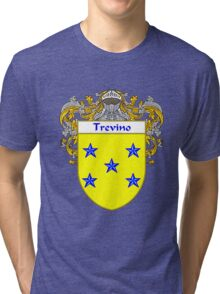 Trevino Coat of Arms/Family Crest Tri-blend T-Shirt